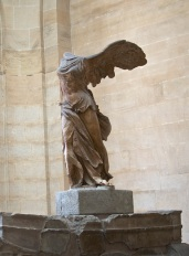 Winged Victory. Up high enough to shoot without seeing the throng below.