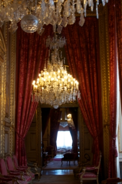 Hallway after hallway of opulence.