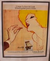 Advertising poster.