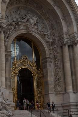 Hector Guimard gate.