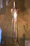 Nouveau candlestick; almost secessionist.