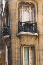 Balconies; look t the detail underneath.