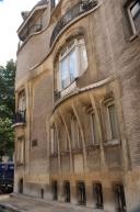 Side windows.